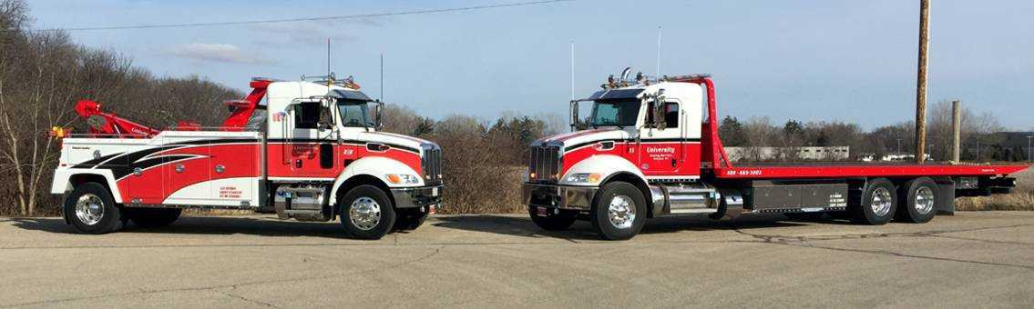 Our Emergency Towing & Recovery Vehicles